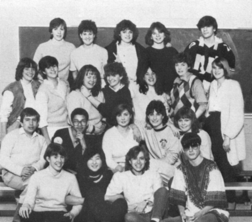(Click to magnify) FRONT ROW: Julie Henderson, Hyo Shin, Kim Rickard, Ron Westwood; ***SECOND ROW: Doug Irvine, Mike Sam