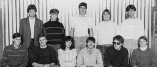 (Click to magnify) FRONT ROW: Rob MacNaughton, Bruce Hall, Michelle Rawnsley, Dave Straughan, Jeff Vance, Steve Hackner;