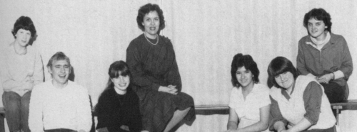 (Click to magnify) FRONT ROW: Clinton Whitely, Susan Ballinger, Verna Sedore, Kelly McGreevy; ***BACK ROW: Mary-Lynne Hi