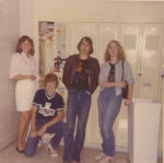 Science Hall Locker.  ~1984