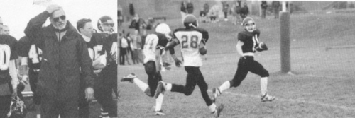 (Click to magnify) Mr. Mazza (left) + USS getting a touchdown.