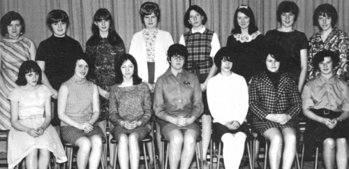(Click to magnify) FRONT ROW: T. Forbes. T. Pedersen, J. Kennedy, V. Brunne, S. Murray, D. Mathers, M. Couperthwaite  BA