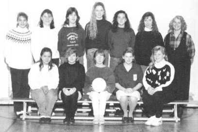 (Click to magnify) FRONT ROW: Lori Jefferson, Rebecca Jones, Alicia Willis, Stacey McGuckin, Michelle Barrett; BACK ROW: