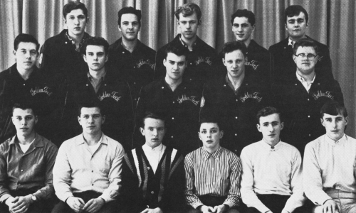 (Click to magnify) FIRST ROW: B. Blackburn, D. Thompson, G. Moore, M. Morrison, T. Clark, G. Nendick; SECOND ROW: K. Foc