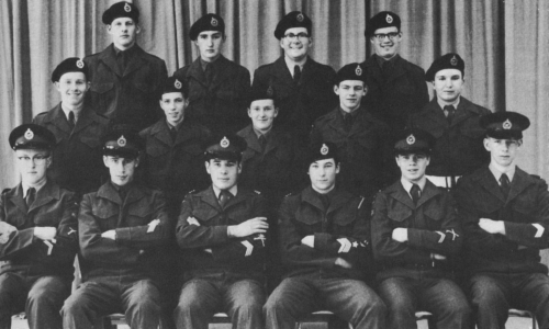 (Click to magnify) FIRST ROW: M. Ross, K. Graham, D. St.Pierre, D. Taylor, B. Munro, B. Gillham; SECOND ROW: P. Taylor,