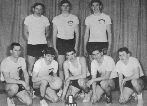 (Click to magnify) FRONT ROW: Frank Ellery, Scott Graves,  Harvey Ward, Ed McGillivray, Preston Archibald; SECOND ROW: I