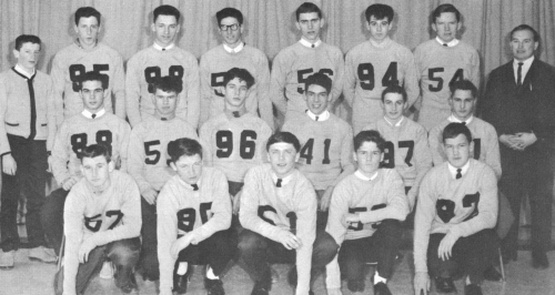 (Click to magnify) FRONT ROW: Preston Archibald, B. Sanderson, Bruce Richardson, Ross Cowan, Ken Rattray; SECOND ROW: Ro