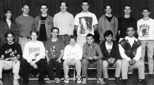 (Click to magnify - multiple levels of magnification) FRONT ROW: Troy Stiner, Jonathan Ball, Trevor Stiner, Aaron DeHeus