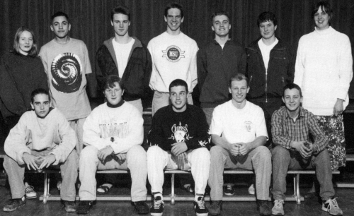 (Click to magnify) FRONT ROW: Patrick Sullivan, Keith Mills, Angelo Tramonti, Jay White, Chris Timmins; SECOND ROW: Jill