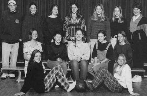 (Click to magnify) FRONT ROW: Erin Blackstock (manager), Cheryl Norton; SECOND ROW: Kristen White, Allison Rush, Jessica