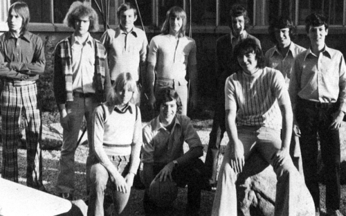 (Click to magnify) FRONT ROW: D. Williamson, B. Gouweleeuw, P. Diltz; BACK ROW: T. Hewlett, M. Lea, D. Delic, R. Taylor,