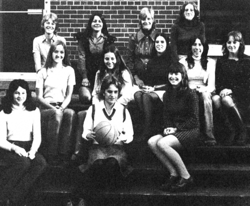 (Click to magnify) FRONT ROW: L. Morrison, S. Williamson, C. Zila; MIDDLE ROW: S. Doble, Mary Jane Ball, S. Armstrong, J