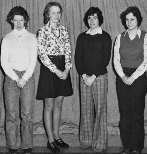 (Click to magnify) Jane Kydd, Denise Arnold, Susan Kester, Judy Passmore.