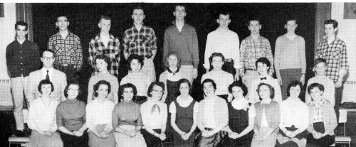 (Click to magnify) FRONT ROW: K. Lintner, C. Perry, S. McLean, E. Whitty, L. Noble, D. Hockley, A. Menar, D. Marnien, E.