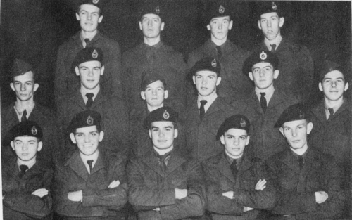 (Click to magnify) FRONT ROW: J. Leek, C. Cornell, J. Blackburn, ? Annand, E. Fellows; SECOND ROW: D. Fox, H. Wagg, L. C