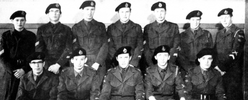 (Click to magnify) FRONT ROW: D. Arbuckle, D. Rothwell, G. Barton, J. Campbell, J. Kennedy; BACK ROW: R. Wallace, N. Tay