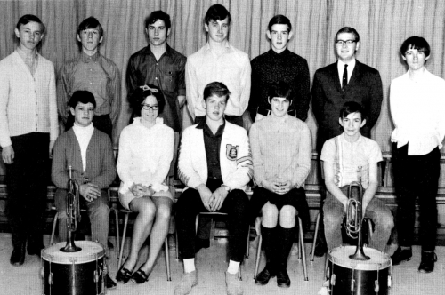 (Click to magnify) FRONT ROW: B. Weller, M. Hackner, K. Elford, B. Bookham, G. Ledoux; ***BACK ROW: G. Kydd, M. Hopcraft