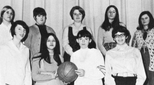 (Click to magnify) FRONT ROW: Sandra L., Judy D., Dianne B., Dawn B., ***BACK ROW: Dianne H. Peggy C., Sandra H., Christ