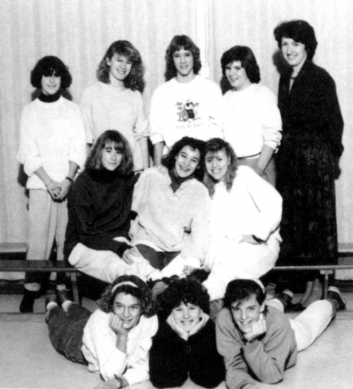 (Click to magnify) FRONT ROW: Karen Winterstein, Tawn Elliot, Lisa Cornell; ***SECOND ROW: Jocelyn Connell, Rebecca Hard