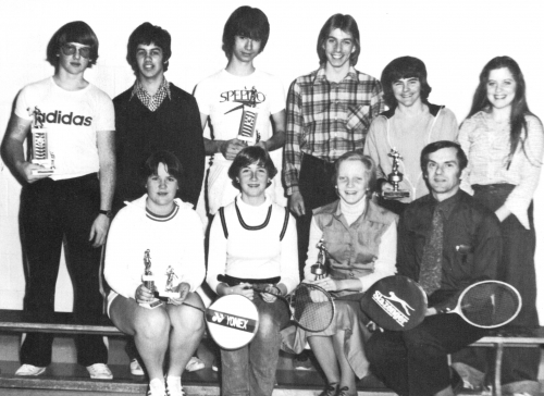 (Click to magnify) FRONT ROW: M. Fortin, A. Schamburg, C. Friedrich, Mr. N. Reed; ***BACK ROW: D. Fisher, B. Hockley, R.