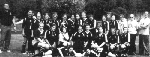 (Click to magnify)  FRONT ROW:  Meagan Yeadon, Lyndsay Huntley.  ***SECOND ROW*** Emily Bradford, Rebecca Lawes, Nikki M
