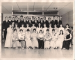 grade 13 grads at Commencement 1968